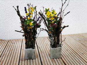 Kreativ-Beton Äste Vase